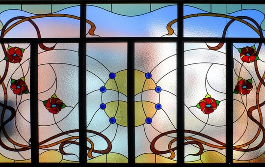 In total about stained-glass windows