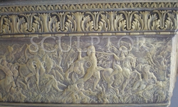 Frieze, the bulk of fireplace Portal