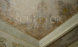 Frescoe on the ceiling